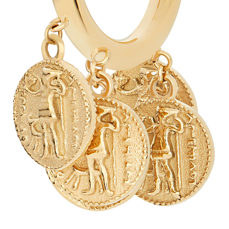 ANTIQUE CREOLEN GOLD