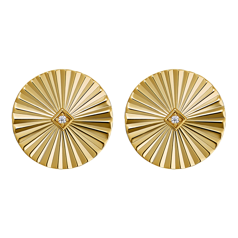 SUNBEAM OHRSTECKER GOLD