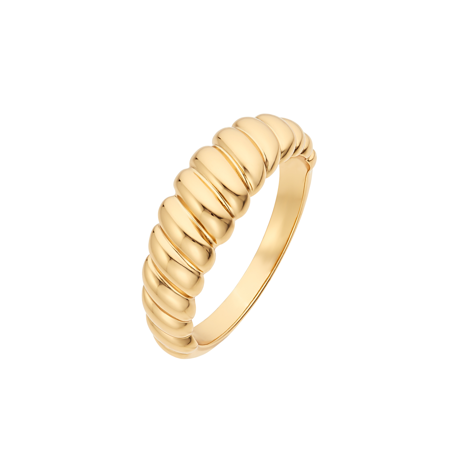 CROISSANT RING GOLD