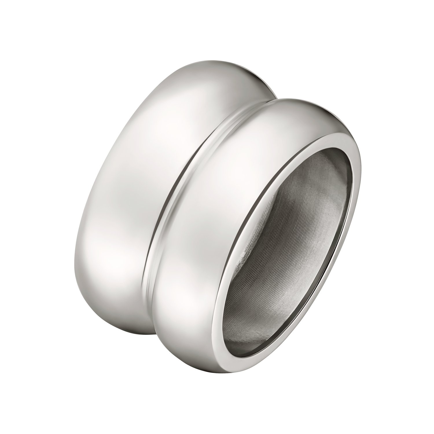 FAKE STACK RING SILBER