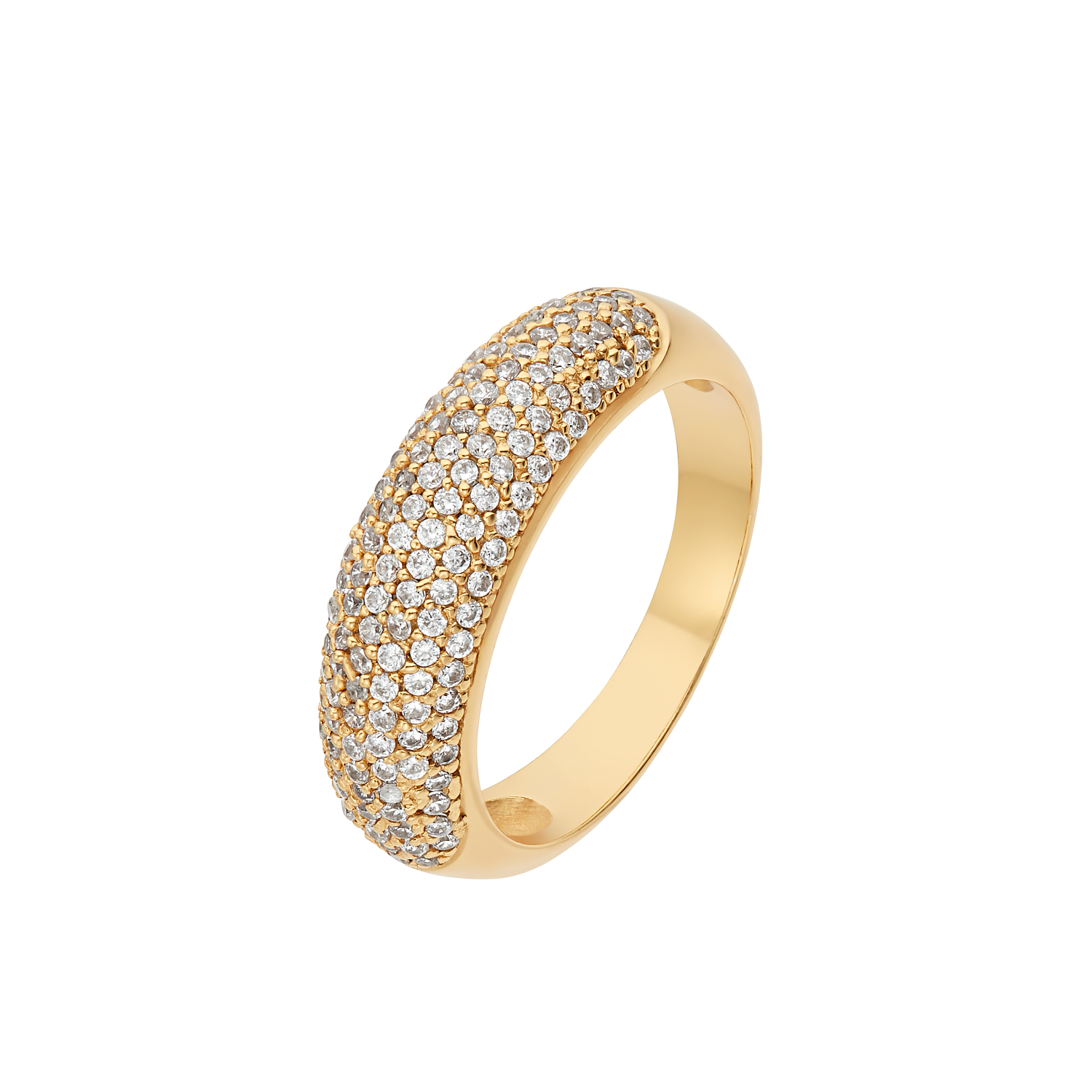 PAVE RING GOLD