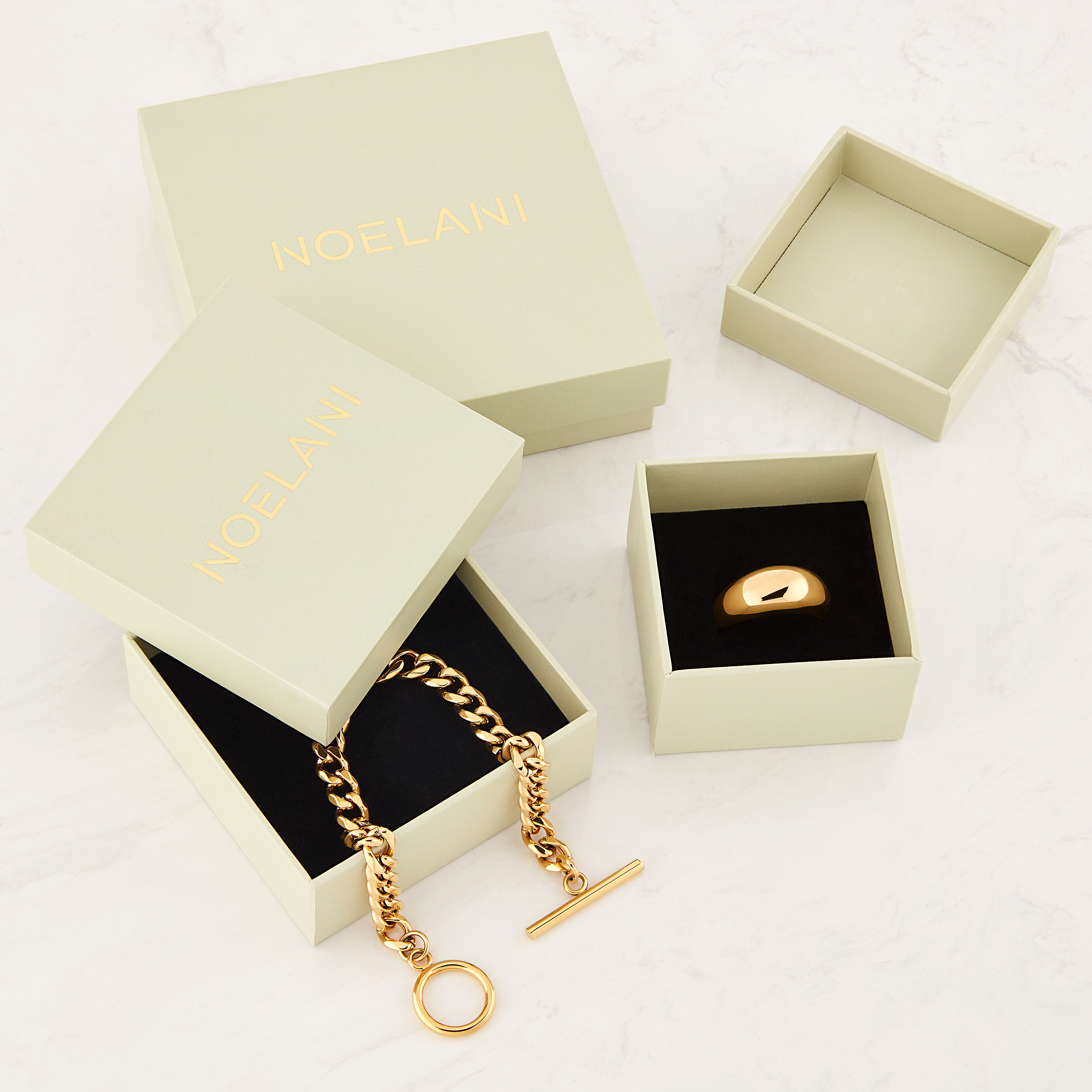 STRUCTURE ARMBAND GOLD