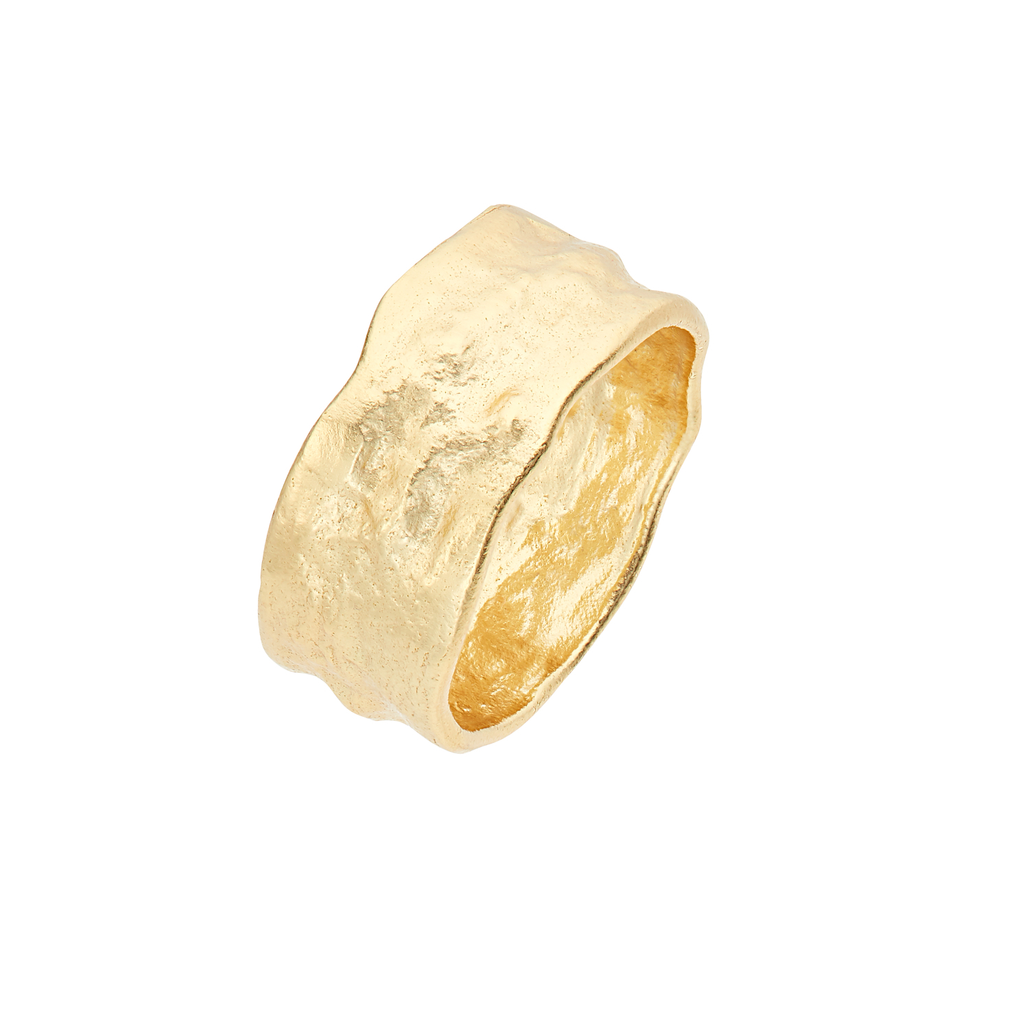 STRUCTURE RING GOLD