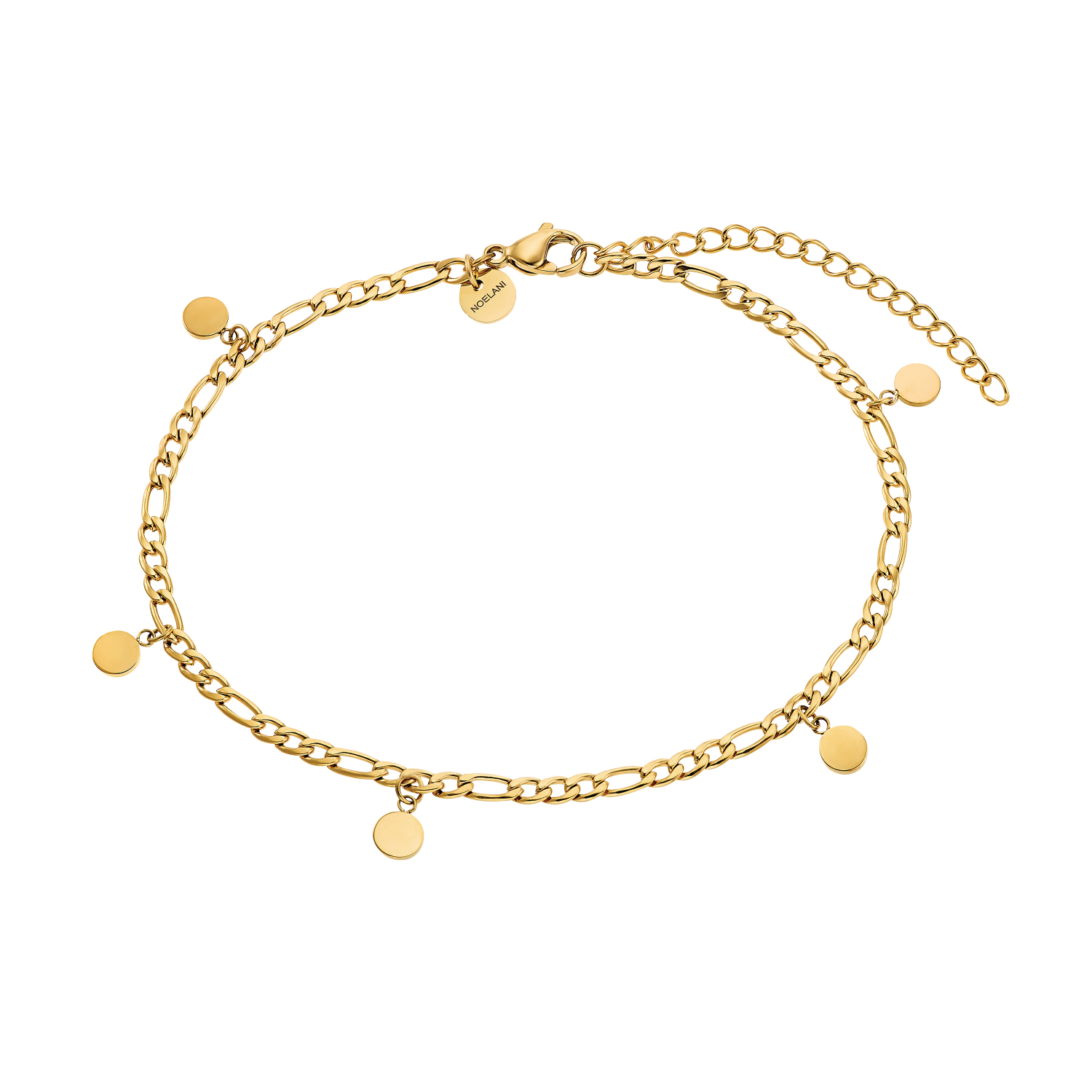 COIN FUSSKETTE GOLD