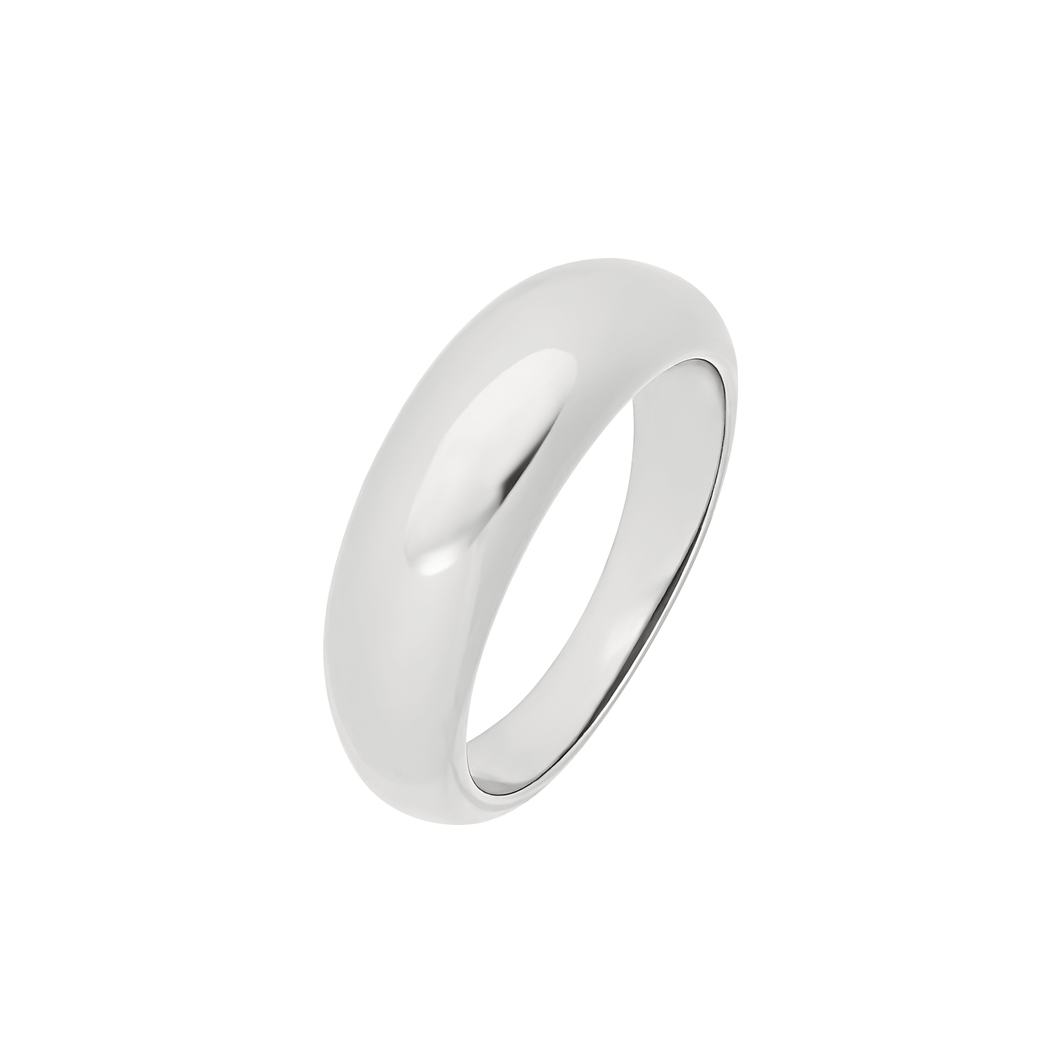 CHUBBY RING SILBER
