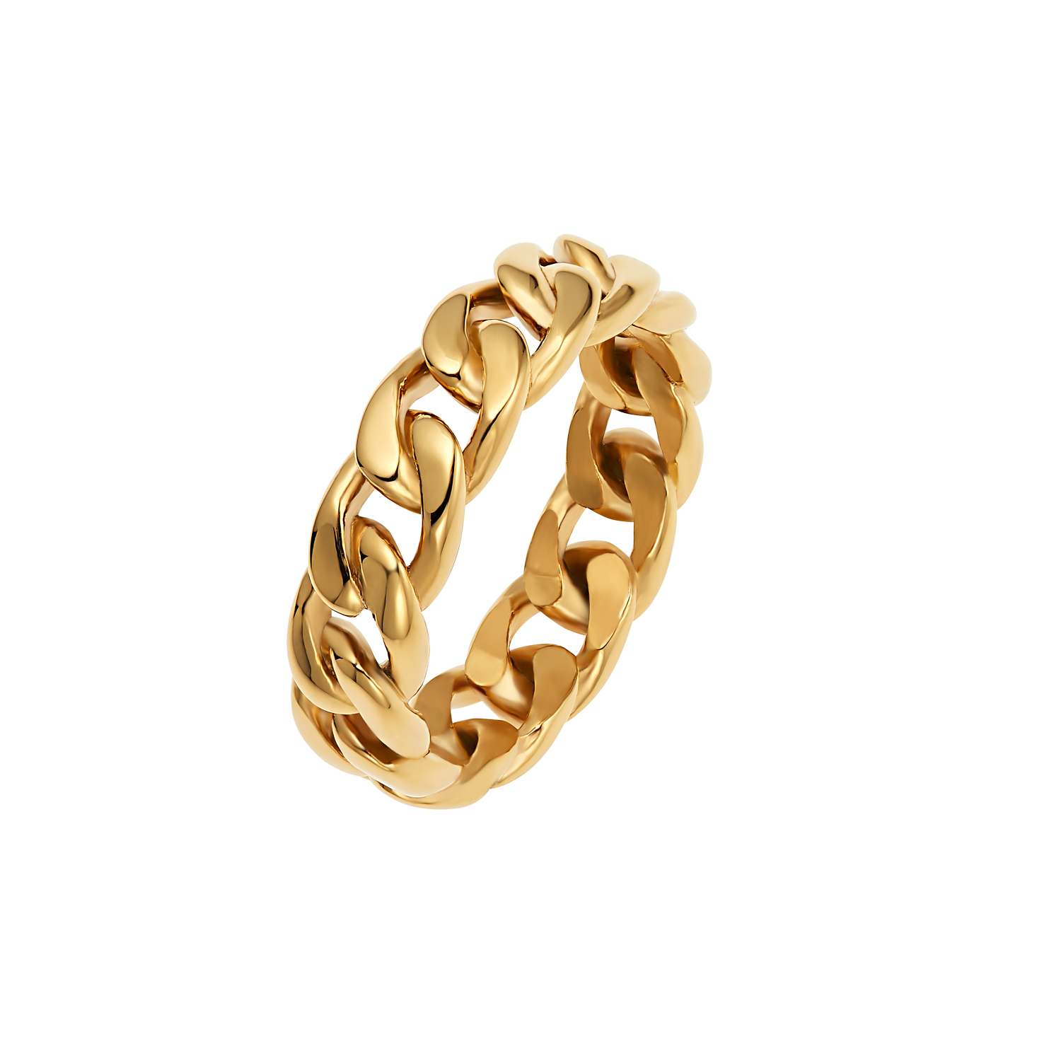 LINK RING GOLD