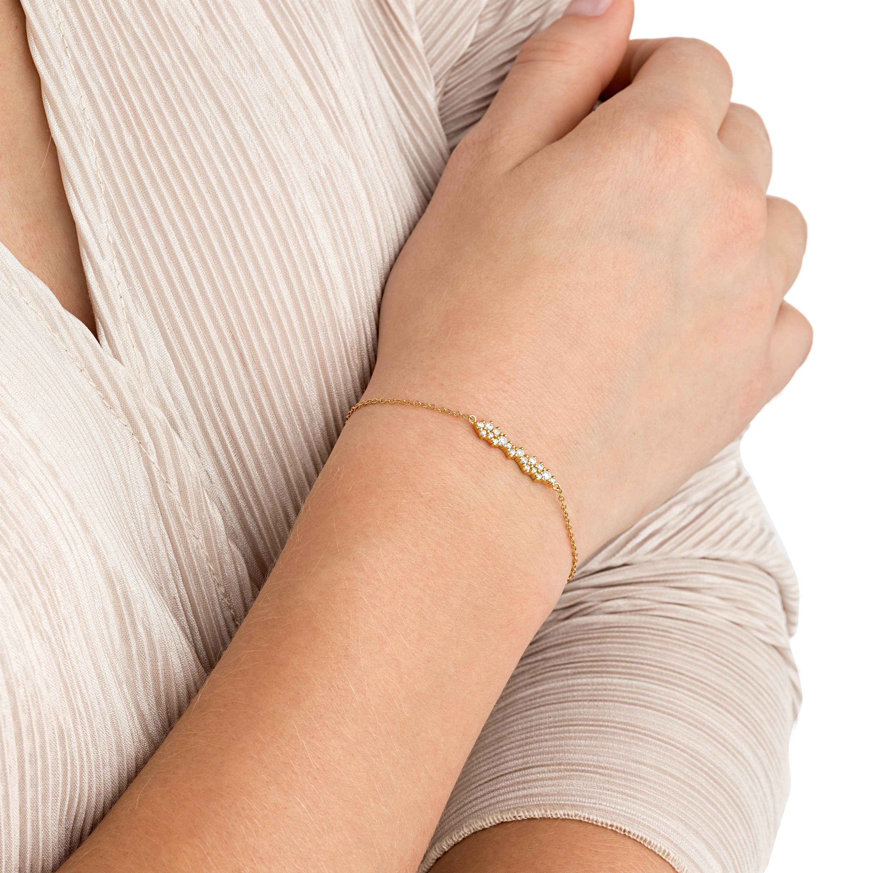 CLUSTER ARMBAND GOLD