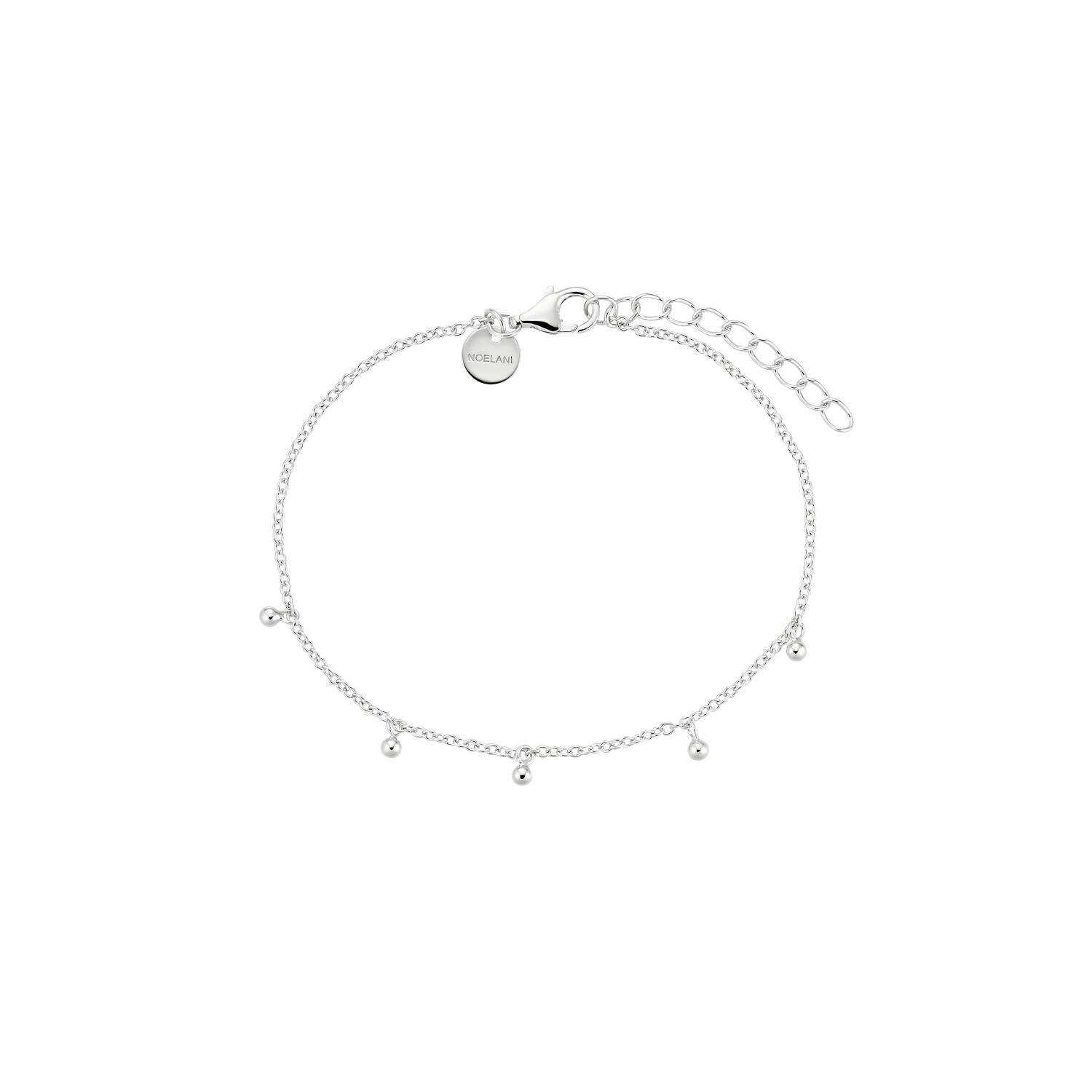 BUBBLES ARMBAND SILBER